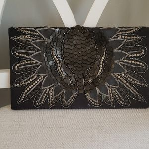 French connection dressy clutch